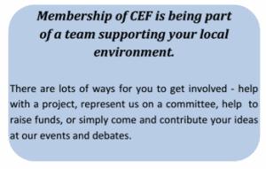 CEF-membership